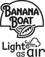 BANANA BOAT LIGHT AS AIR