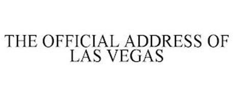 THE OFFICIAL ADDRESS OF LAS VEGAS
