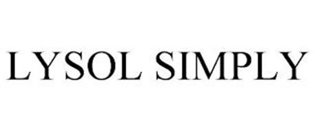 LYSOL SIMPLY