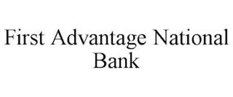 FIRST ADVANTAGE NATIONAL BANK
