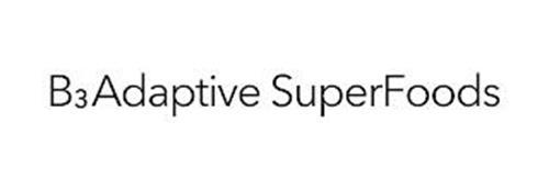 B3ADAPTIVE SUPERFOODS