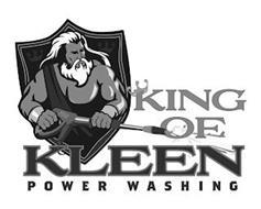 KING OF KLEEN POWER WASHING