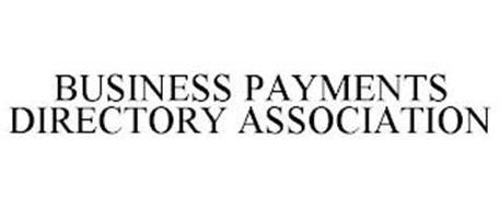 BUSINESS PAYMENTS DIRECTORY ASSOCIATION