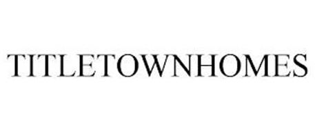 TITLETOWNHOMES