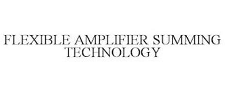 FLEXIBLE AMPLIFIER SUMMING TECHNOLOGY