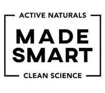 MADE SMART ACTIVE NATURALS CLEAN SCIENCE