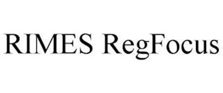 RIMES REGFOCUS