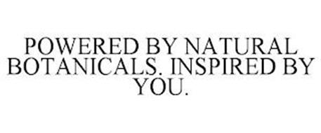 POWERED BY NATURAL BOTANICALS. INSPIRED BY YOU.