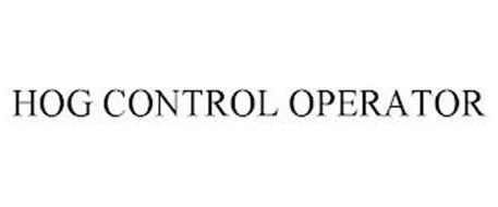 HOG CONTROL OPERATOR