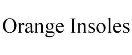 ORANGE INSOLES