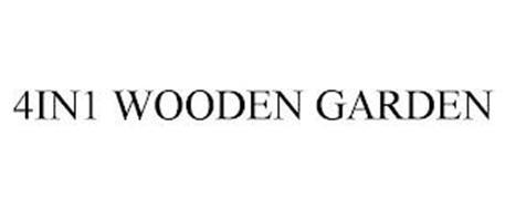4IN1 WOODEN GARDEN