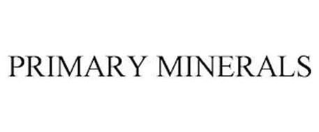 PRIMARY MINERALS