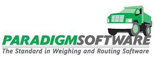 PARADIGMSOFTWARE THE STANDARD IN WEIGHING AND ROUTING SOFTWARE