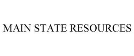MAIN STATE RESOURCES