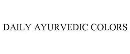 DAILY AYURVEDIC COLORS