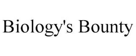 BIOLOGY'S BOUNTY