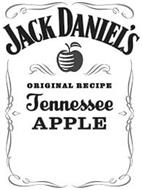 JACK DANIEL'S ORIGINAL RECIPE TENNESSEEAPPLE