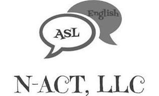 N-ACT, LLC ASL ENGLISH