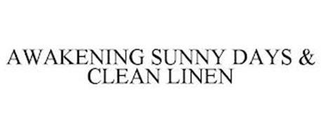 AWAKENING SUNNY DAYS & CLEAN LINEN