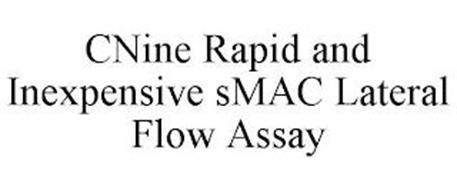 CNINE RAPID AND INEXPENSIVE SMAC LATERAL FLOW ASSAY