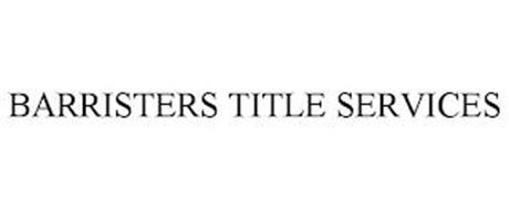 BARRISTERS TITLE SERVICES