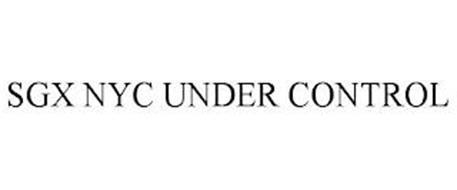 SGX NYC UNDER CONTROL