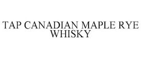 TAP CANADIAN MAPLE RYE WHISKY