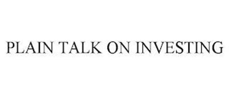 PLAIN TALK ON INVESTING