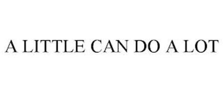 A LITTLE CAN DO A LOT
