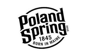 POLAND SPRING BRAND 1845 BORN IN MAINE