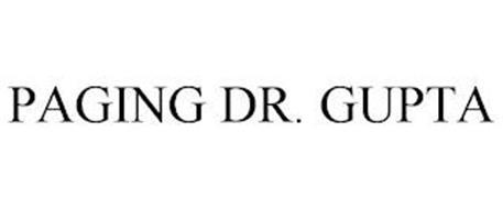 PAGING DR. GUPTA