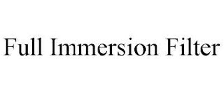 FULL IMMERSION FILTER