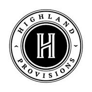 H HIGHLAND PROVISIONS