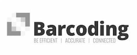 BARCODING BE EFFICIENT | ACCURATE | CONNECTED