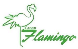 GREEN FLAMINGO