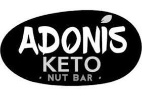 ADONIS KETO · NUT BAR ·