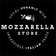 LOCAL ORGANIC MILK MOZZARELLA STORE INCREDIBLE ITALIAN TASTE