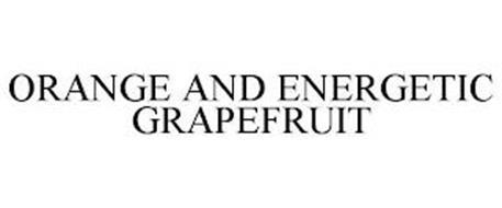 ORANGE AND ENERGETIC GRAPEFRUIT