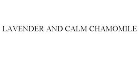 LAVENDER AND CALM CHAMOMILE