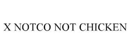 X NOTCO NOT CHICKEN