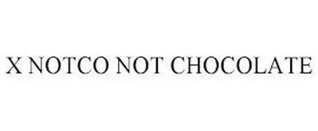 X NOTCO NOT CHOCOLATE
