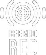 B BREMBO RED