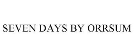 SEVEN DAYS BY ORRSUM