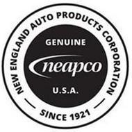 NEW ENGLAND AUTO PRODUCTS CORPORATION SINCE 1921 GENUINE NEAPCO U.S.A.