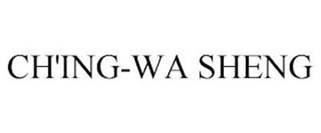 CH'ING-WA SHENG