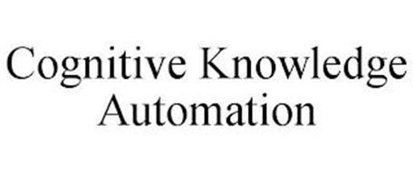 COGNITIVE KNOWLEDGE AUTOMATION