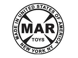 MARX TOYS MADE IN UNITED STATES OF AMERICA NEW YORK NY