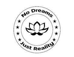 NO DREAMS JUST REALITY