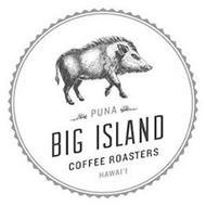 PUNA BIG ISLAND COFFEE ROASTERS HAWAI'I