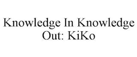 KNOWLEDGE IN KNOWLEDGE OUT: KIKO